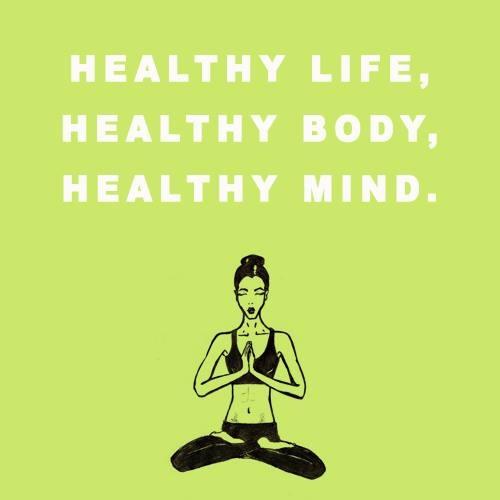 #healthy #life #mind #body