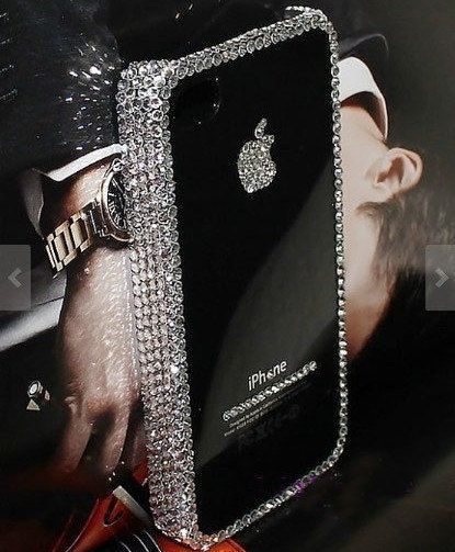 luxury iphone 5c case iphone 5s case bling iphone by casehome1818