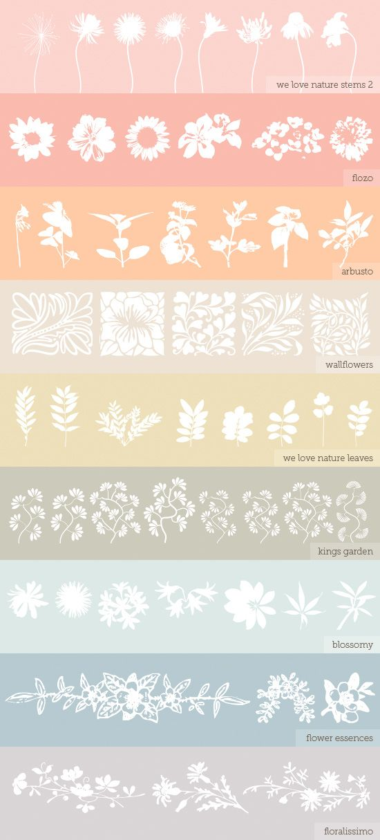 """floral fonts. would be GREAT to print out onto cardstock, """"color in"""" or """"outline"""" with a """"embossing pen"""" and then use embossing powder to heat emboss it!"""