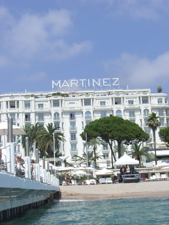 hotel martinez : cannes, france