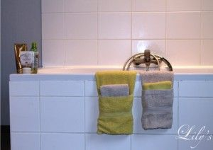 Bathroom Decoration - towel folding