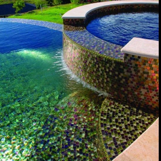 pared piscina