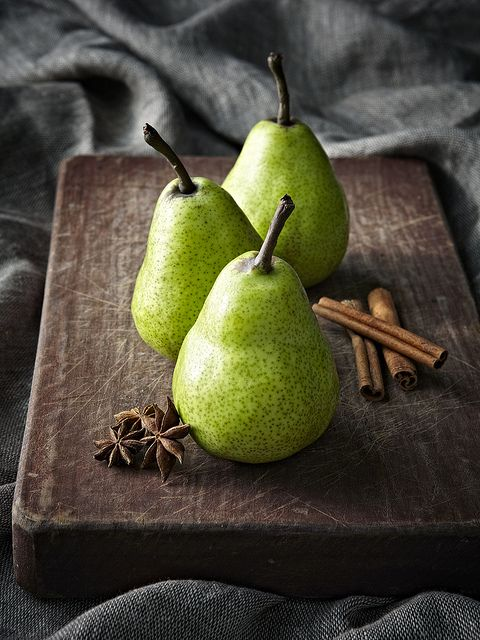 ? Still life, food styling, healthy eating, Pear