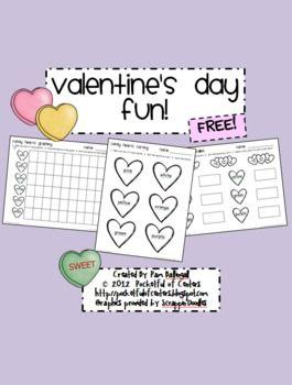 Freebie for Valentine's Day :)