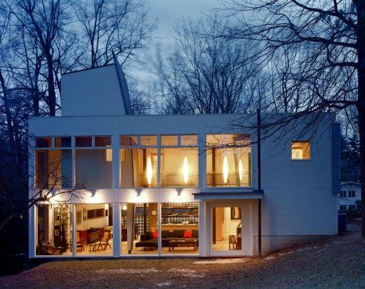 MODERN IN MARYLAND: HUIS-JCMZ / Studio Twenty Seven Architecture. 11/4/2011 via ArchDaily
