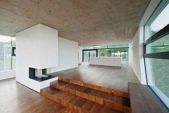 Love this multi level floor! // design by propeller z,