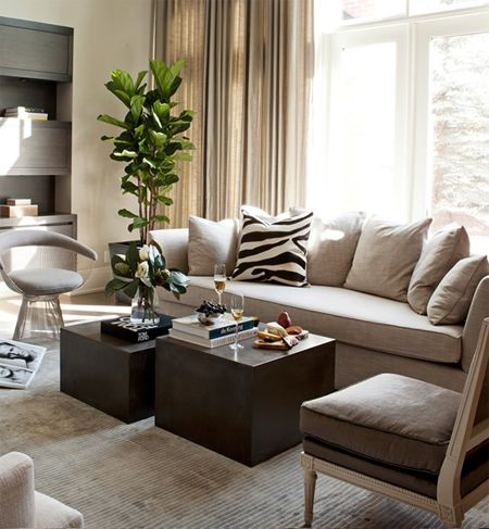 Living Room // Nam Dang Mitchell #interiordesign relaxed living