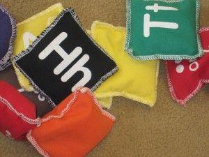 A simple bean bag game for preschool