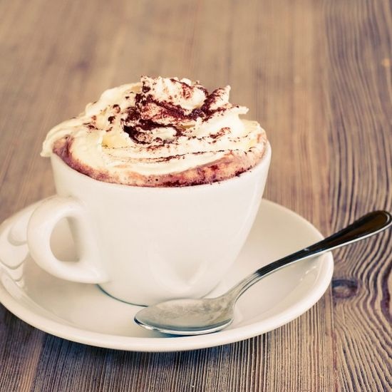 One of Miss Universe 2013's favorite drinks is hot chocolate with some vanilla ice cream on top!