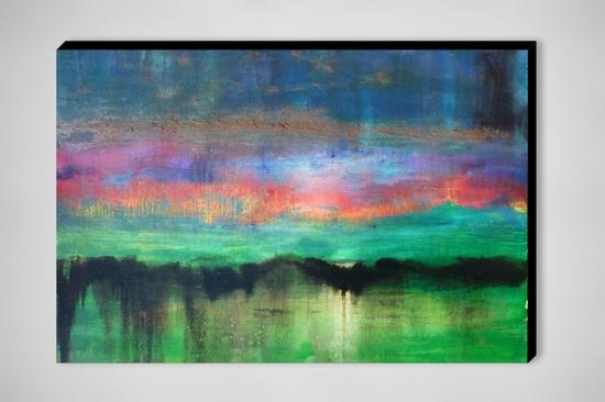 "Saatchi Online Artist: Fabien Bruttin; Mixed Media, Painting ""Mountain 4"""