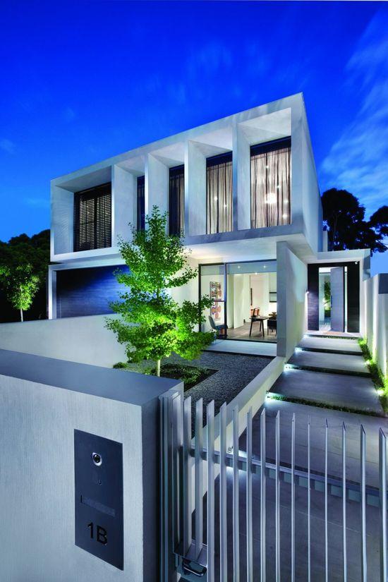 Canny #Design have designed the Malvern #House located in #Melbourne, Australia. #modern #architecture