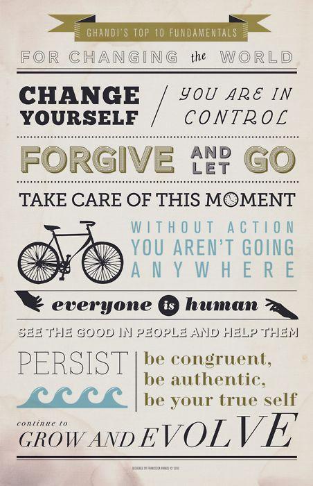 Ghandi's top 10 Fundamentals