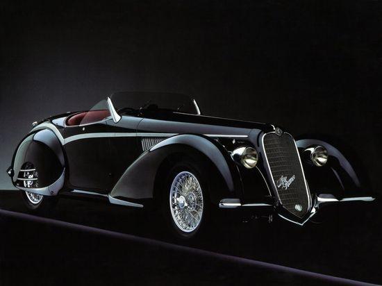 1938 Alfa Romeo 8C 2900B Spider. @designerwallace