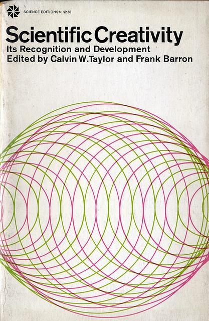 Science book cover design 1963