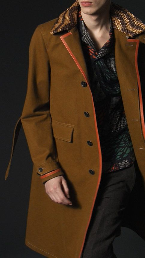Burberry Prorsum trench coat.