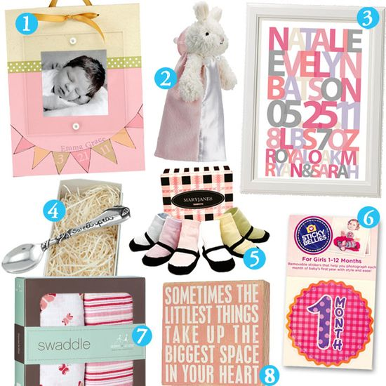 unique baby girl gifts