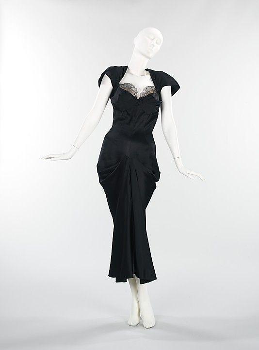 Evening dress,  Charles James, 1942.