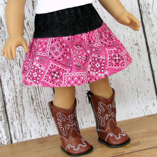 American Girl Doll Clothes Country Western by SewFunDollClothes, $10.00
