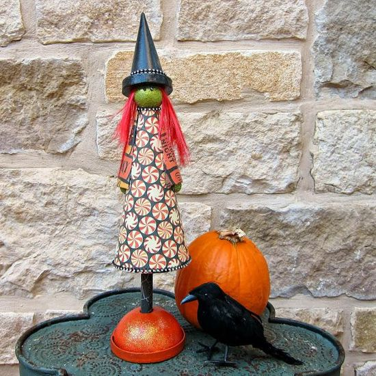 DIY Cute Halloween Witch