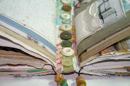 Beautiful mixed media books and journals DJ Pettitt