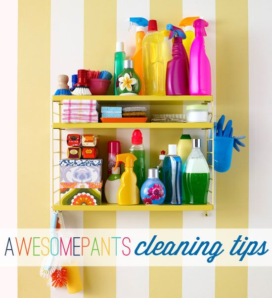 Round Up of Cleaning Tips and Links