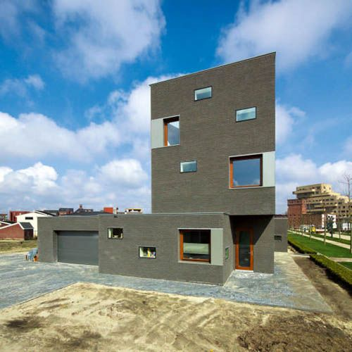 Architect Cino Zucchi Gray Brown Bricks Brick House Architecture Idea By Architect Cino Zucchi