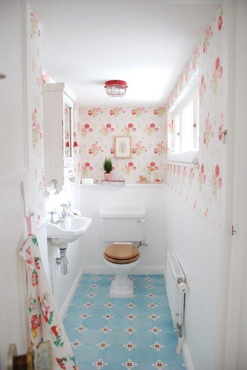 Cath Kidston floral wallpaper