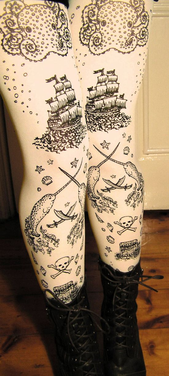Pirate Tights. Get on my body.