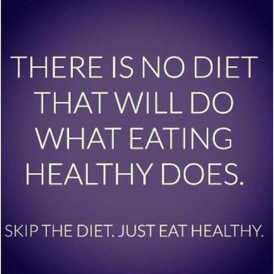 Stop Dieting, Start Living
