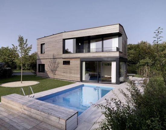 Contemporary Timber Home Design.