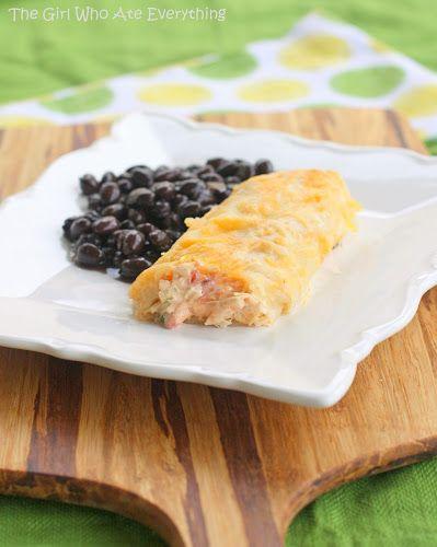 Creamy and easy Chicken Enchiladas