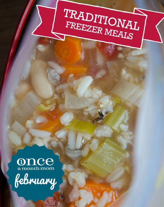 Traditional February Freezer Meals