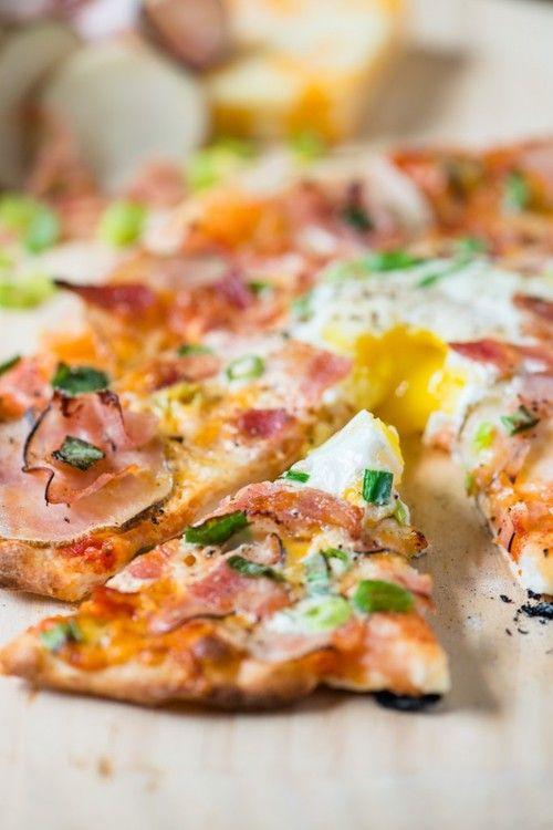 Breakfast Pizza. Make it gluten free! #Glutenfree #Absolutelygf #Breakfast #Recipe