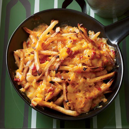 Pimento Cheese Fries // More Fabulous Fries: www.foodandwine.c... #foodandwine