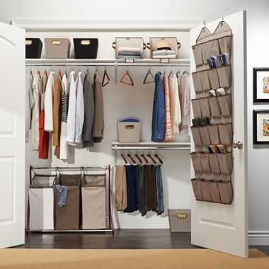 Michael Graves Design closet organization . JCP