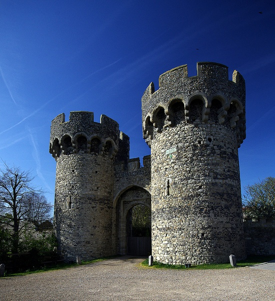 The 14th century Cooling Castle, in Rochester, Kent