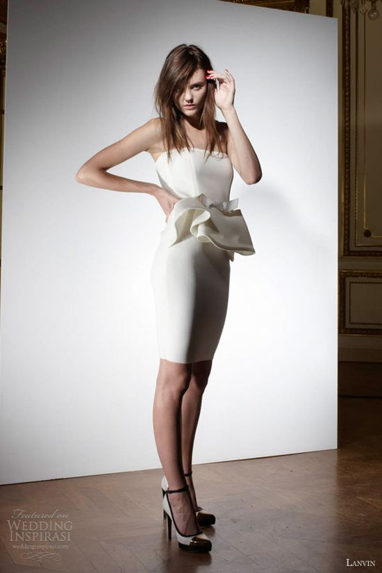 Lanvin Spring 2013 Wedding Dresses -- Blanche Bridal Collection