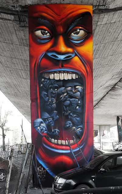 graffiti in Warsaw #streetart #graffiti #art