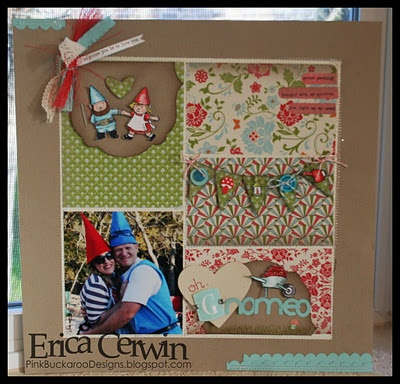 Gnome, Sweet Gnome Stampin' Up Page