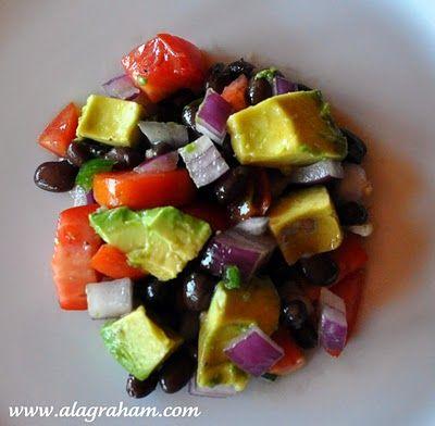 Avocado Salad by alagraham #Salad #Avocado #alagraham