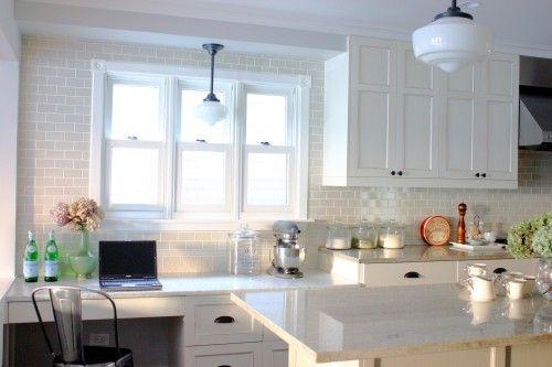 white kitchens are gorgeous