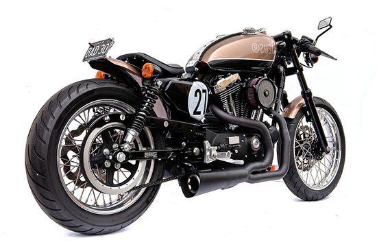 Harley Sportster Cafed up