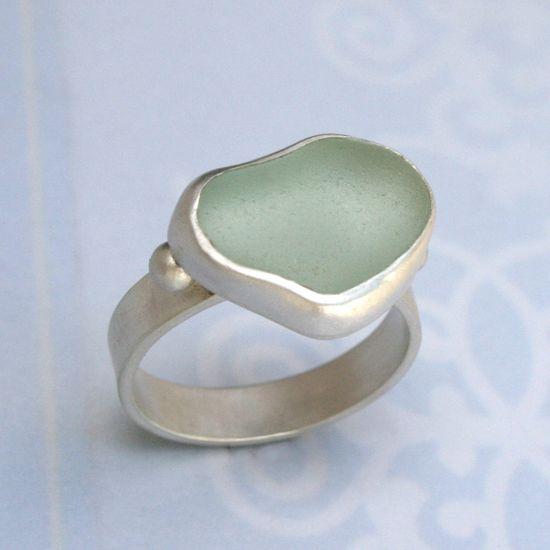 Hawaiian Sea Glass Ring