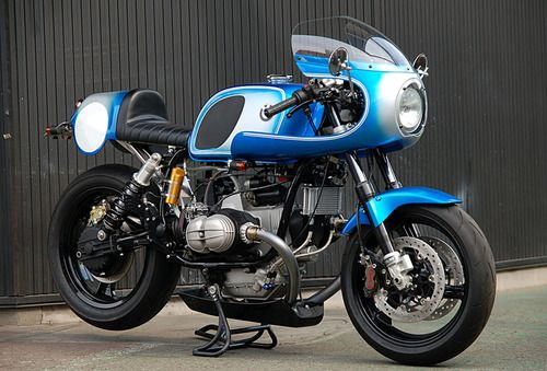 Retro BMW racer.