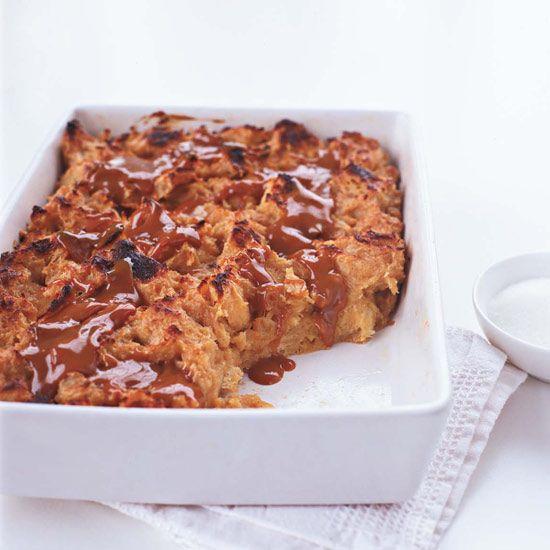 Dulce de Leche Bread Pudding // 30-Minute Desserts: www.foodandwine.c... #foodandwine