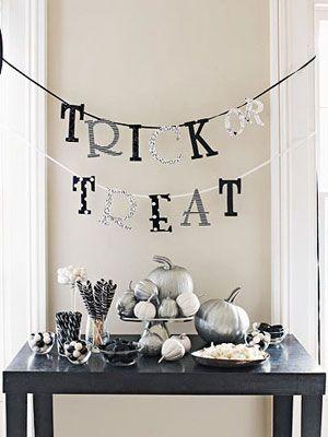 Halloween Decorating: Trick or Treat