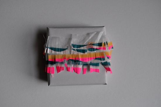washi tape fringe wrap