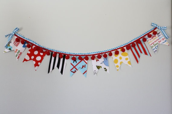 $18 creative & handmade bunting from #yellowplumblossoms etsy