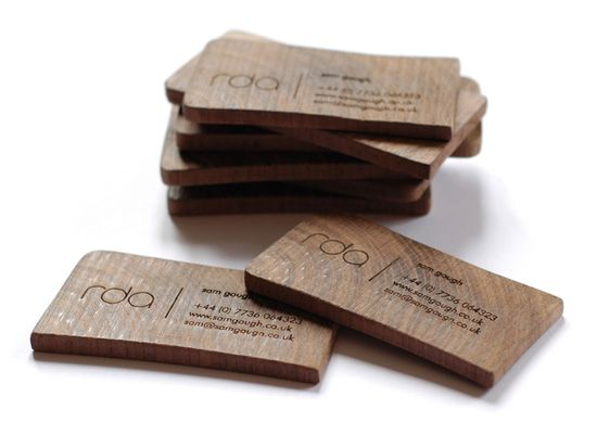 love love thick business cards like this; much more of an 'artifact' than a business card!