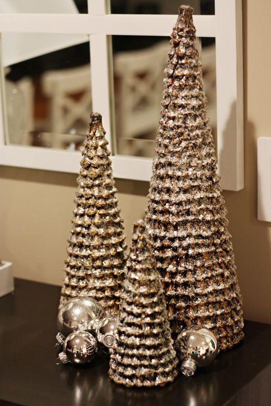~ Vintage Cone Trees ~